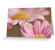 Pink Vision Greeting Card