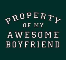 property of my awesome boyfriend by schembri211