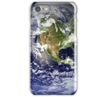 EARTH - USA/CANADA/CENTRAL AMERICA WESTERN HEMISPHERE iPhone Case/Skin