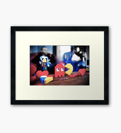 lego fun Framed Print