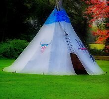 Local Indian history museum tee pee..... by DaveHrusecky