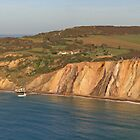Alum Bay Panorama by RedHillDigital