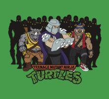 TMNT - Foot Soldiers with Shredder, Bebop & Rocksteady - Teenage Mutant Ninja Turtles One Piece - Short Sleeve