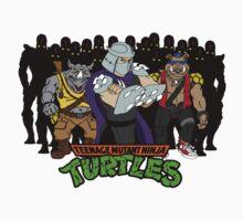 TMNT - Foot Soldiers with Shredder, Bebop & Rocksteady - Teenage Mutant Ninja Turtles Kids Clothes