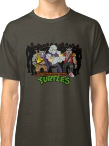 TMNT - Foot Soldiers with Shredder, Bebop & Rocksteady - Teenage Mutant Ninja Turtles Classic T-Shirt