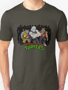 TMNT - Foot Soldiers with Shredder, Bebop & Rocksteady - Teenage Mutant Ninja Turtles Unisex T-Shirt