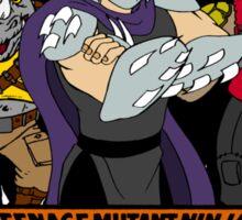 TMNT - Foot Soldiers with Shredder, Bebop & Rocksteady - Teenage Mutant Ninja Turtles Sticker