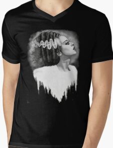 Bride of Frankenstein Mens V-Neck T-Shirt
