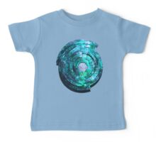 Blue/Aqua/Green Shield-t Baby Tee