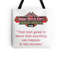 The Great Movie Ride Tote Bag