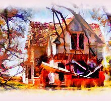 Homeless Old House by JohnDSmith