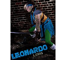 Leonardo Leads Photographic Print