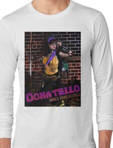 Donatello Does Machines Long Sleeve T-Shirt