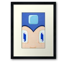 Megaman: Robotic Eyes Framed Print