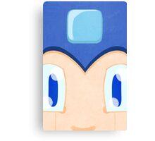 Megaman: Robotic Eyes Canvas Print