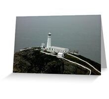 South stack Holyhead Greeting Card