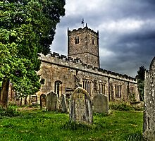 St. Mary's Church. Kirkby Lonsdale. UK by Sue Smith