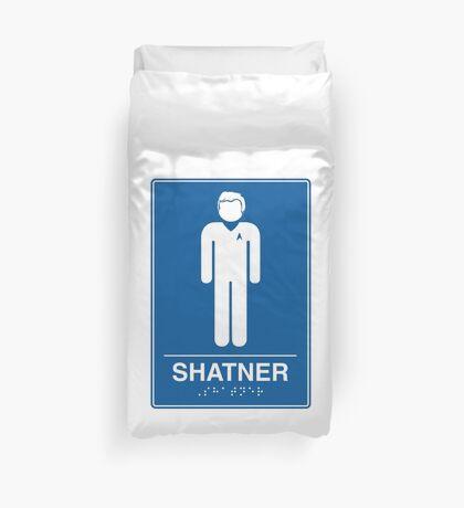 Shatner Duvet Cover