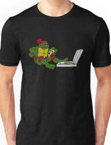 TMNT - Raphael with Pizza Unisex T-Shirt