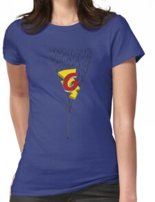 Secret Blues Womens Fitted T-Shirt