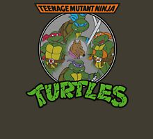 TMNT - Sewer Lid Four Turtles with Splinter  T-Shirt