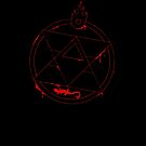Roy Mustang - Blood Transmutation Circle by R-evolution GFX