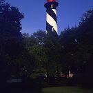 St Augustine Light by Lloyd Sherman