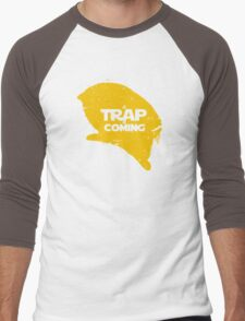 A Trap is Coming Men's Baseball ¾ T-Shirt