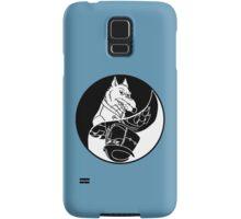 TMNT - Yin Yang - Splinter & Shredder 04 - Black Samsung Galaxy Case/Skin