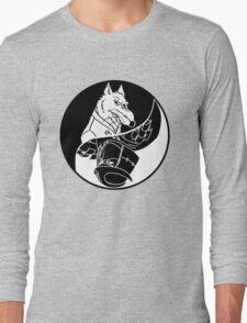 TMNT - Yin Yang - Splinter & Shredder 04 - Black Long Sleeve T-Shirt