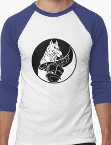 TMNT - Yin Yang - Splinter & Shredder 04 - Black Men's Baseball ¾ T-Shirt