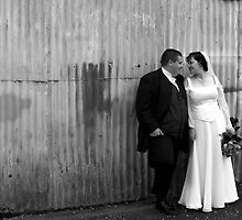 Tin Shed Wedding by Tony O'Leary