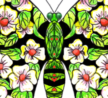 Butterfly T-Magnolias Sticker