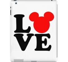 Love silhouette iPad Case/Skin