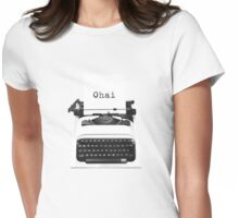 GIRLY 'Ohai' Typewriter Tee Womens Fitted T-Shirt