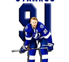 STEVEN STAMKOS - Tampa Bay Lightning by noellebrion