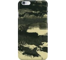Landscape at the lake 1 iPhone Case/Skin