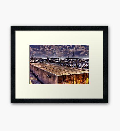Boardwalk. Framed Print