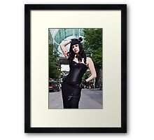 Brittany in Seattle Framed Print