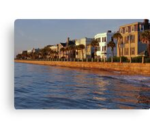 Charleston Harbor Canvas Print