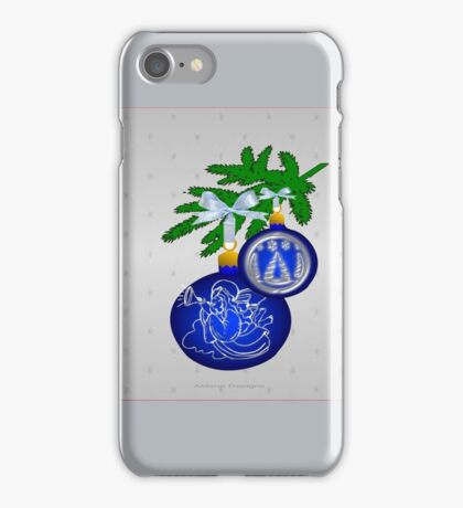 Blue Bauble cases & skins (3216 Views) iPhone Case/Skin