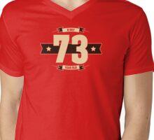 B-day 73 (Cream&Choco) Mens V-Neck T-Shirt