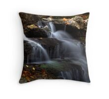 Cagles Mill Waterfall #3 Throw Pillow