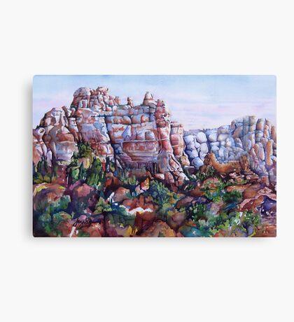 Snoopy Rock - Sedona Arizona Canvas Print