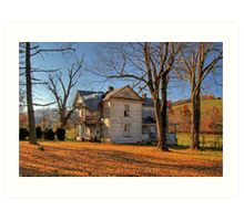 Virginia Farmhouse Art Print