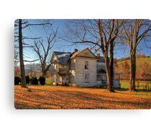 Virginia Farmhouse Canvas Print