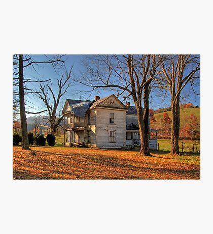 Virginia Farmhouse Photographic Print