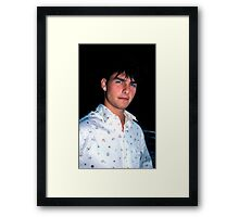 Tom Cruise  Framed Print