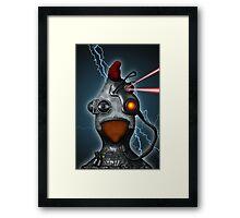 Borg Chicken Framed Print