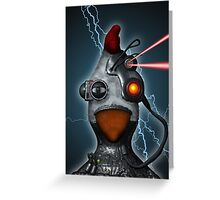 Borg Chicken Greeting Card